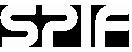 SPIF Logo White